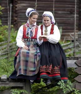 One woman from Nordmøre, one from Telemark, Norway