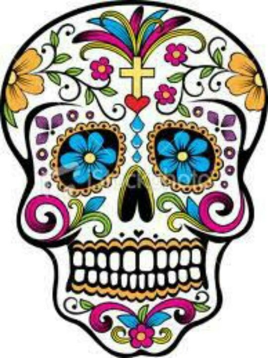 Calavera Mexicana Crafts Pinterest Sugar Skull Day Of The