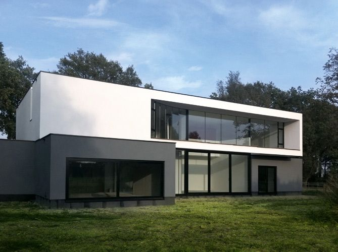 Moderne huizen plannen google zoeken huizen pinterest villas modern and holland for Modern huis binnenhuisarchitectuur villas