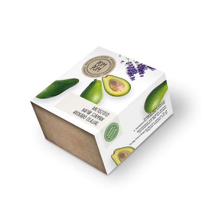 Arctisztító natúr szappan avokádó olajjal * natural face soap with avocado oil