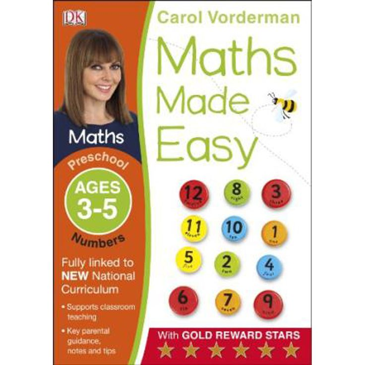 Buy Maths Made Easy Numbers Preschool Ages 3-5 by Carol Vorderman online from The Works. Visit now to browse our huge range of products at great prices.