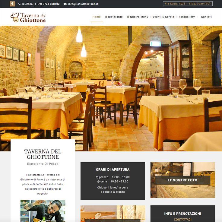 La Taverna del Ghiottone, ristorante di pesce a Fano. Nuovo restyling: www.ilghiottonefano.it