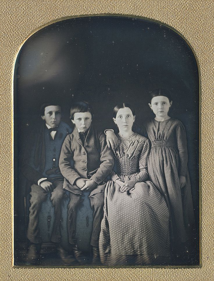 """"""" THE FOUR SETS OF EYES (via Dennis A. Waters Fine Daguerreotypes) """""""