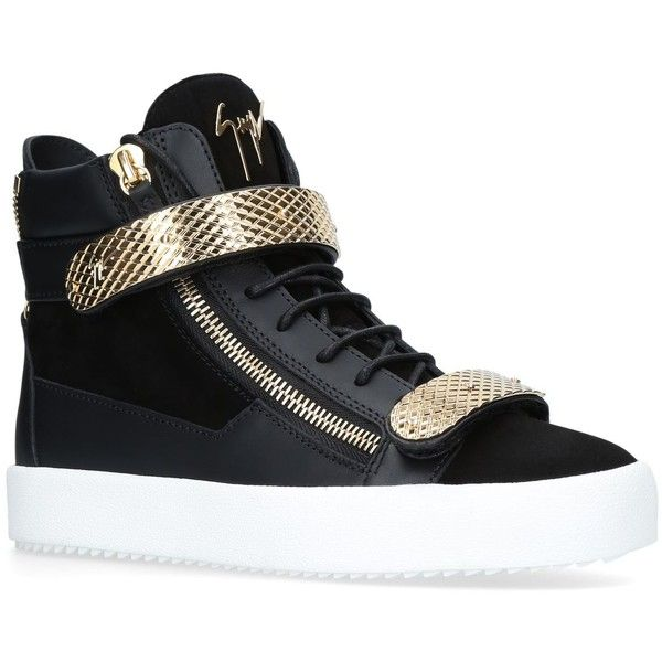 Giuseppe Zanotti Panelled Strap Sneakers (€820) ❤ liked on Polyvore featuring men's fashion, men's shoes, men's sneakers, giuseppe zanotti mens sneakers, mens metallic shoes, giuseppe zanotti mens shoes, mens monk strap shoes and mens velcro strap sneakers