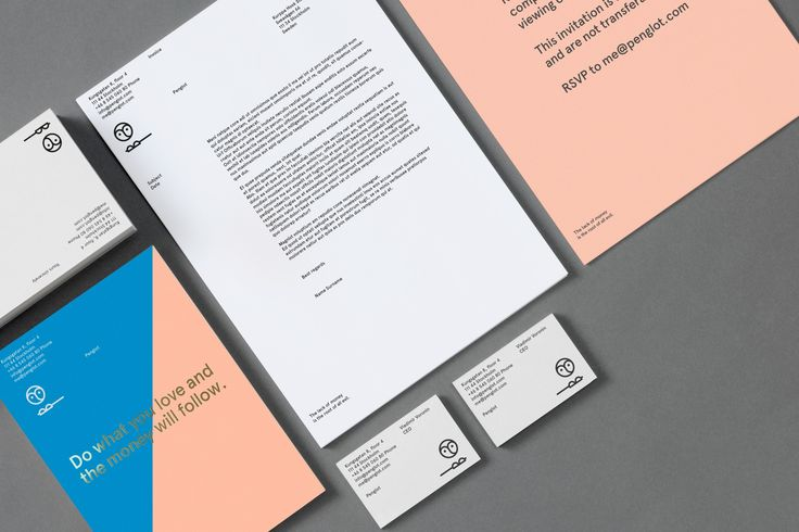 Identity by Penglot #stationary #letterhead #print #identity