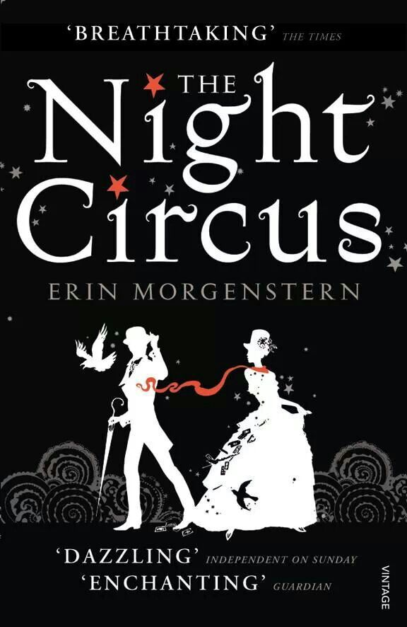 The Night Circus finally reading it!!! Yay for discounts at zeee bookstore!!! :)