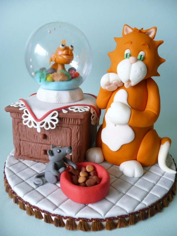 35 best Cats Cakes images on Pinterest Cat cakes Animal cakes