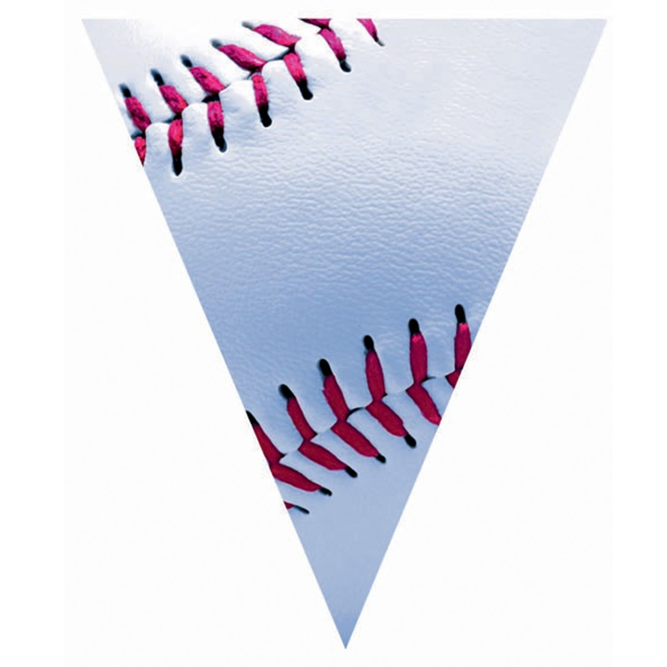 baseball pennant banner | Party time Baby! | Pinterest