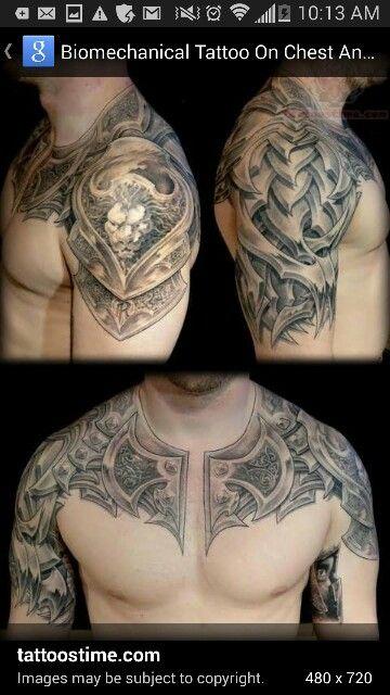 Armor conversion chest shoulder