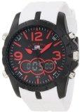 U.S. Polo Assn. Men's US9242 White Analog Digital Strap Watch
