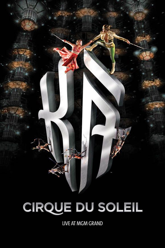 Cirque du Soleil - KA at the MGM Grand - my new favorite show in Vegas - INCREDIBLE!!