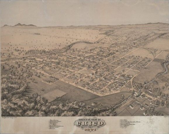 The city of Chico is also a model of occult or Masonic city planning that is oriented on a ley line (latitude) of ancient origin and symbolism. Chico is set up as a kind of mystery school historical veneration of the Sumerian goddess Ishtar.