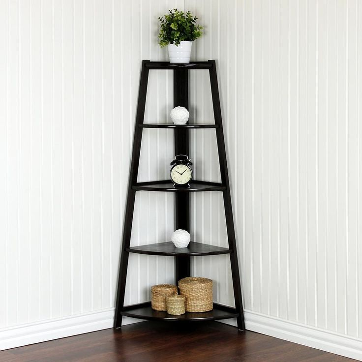 25 Best Ideas About Corner Ladder Shelf On Pinterest Small Black And Bk Of America