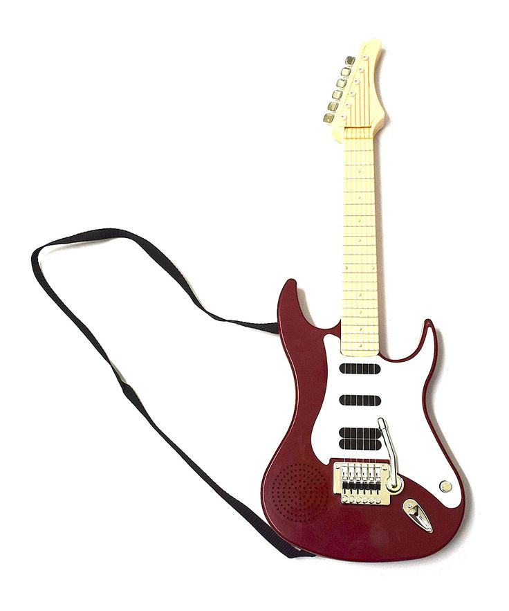 Red Kids Electric Guitar