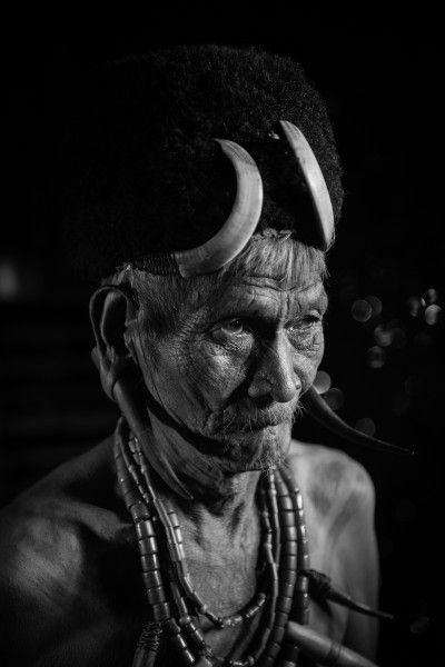 village elder - tribe of the Naga
