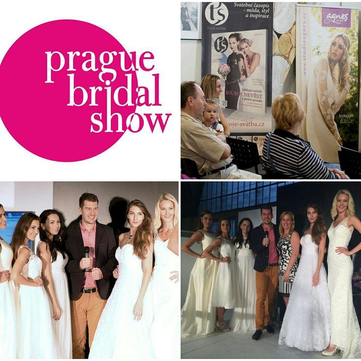Přehlídka svatebních šatů Inter Beauty Praha