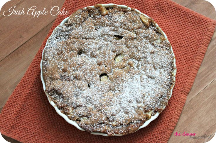 Traditional Irish Apple Cake