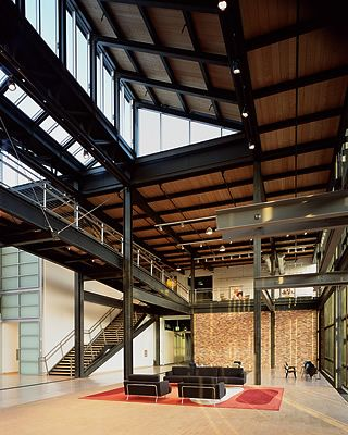 Pixar Headquarters and the Legacy of Steve Jobs - Office Snapshots