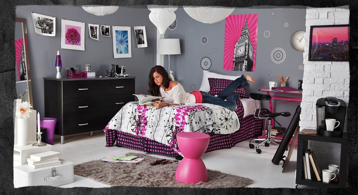 Dorm room style: Idea, Colleges Bedrooms, Dorm Room Styles, My Rooms, Color Schemes, Dormroom, Pop Of Color, Dorm Rooms Style, Colleges Style