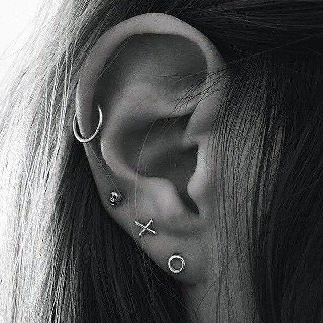 Fancy - XO Stud Earrings