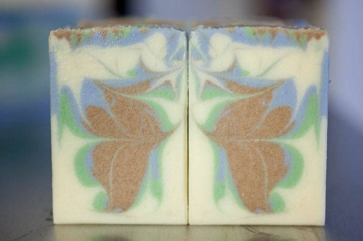 Nature Boy soap, but I see a lady in it!