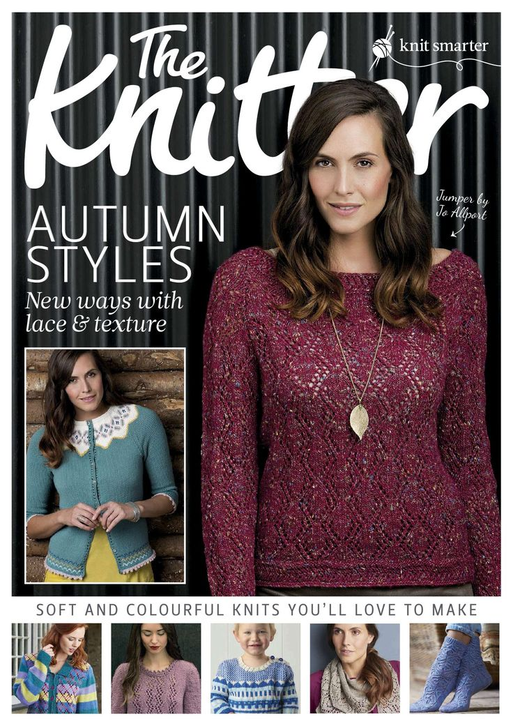 The Knitter 2015 Autumn Styles