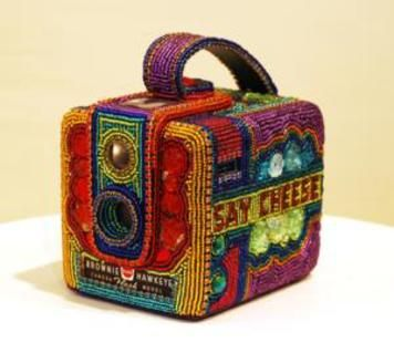 Tom and Kathy Wegman – Beaded Camera