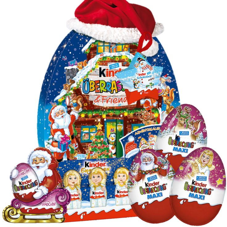 Kinder Advent Calendar with Surprise Eggs Girls Set Kinder Advent Calendar Mini Mix Set #christmas #adventcalendar #xmas #christmasgifts