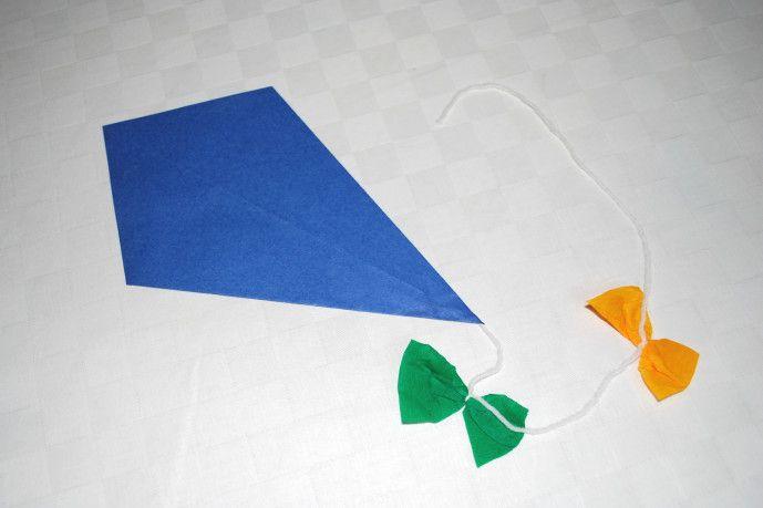 Papierdrachen falten - Kinderspiele-Welt.de