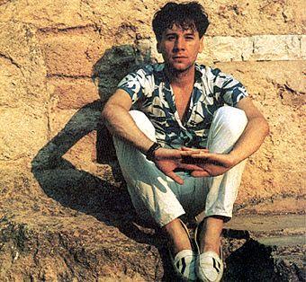 Jim Kerr 1984.