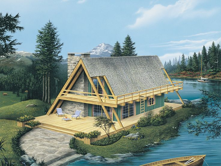 66 best houses a frame swiss chalet craftsman bungalow for A frame chalet house plans