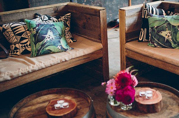 Different cushions but this kind of wooden couches for whiskey bar set up