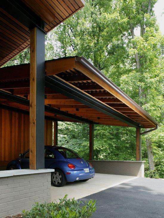 Garage modern holz  Die besten 17 Bilder zu Garage auf Pinterest | Sattelkammer ...