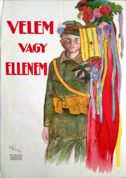 With me or against me - Marcell Vértes (1919)