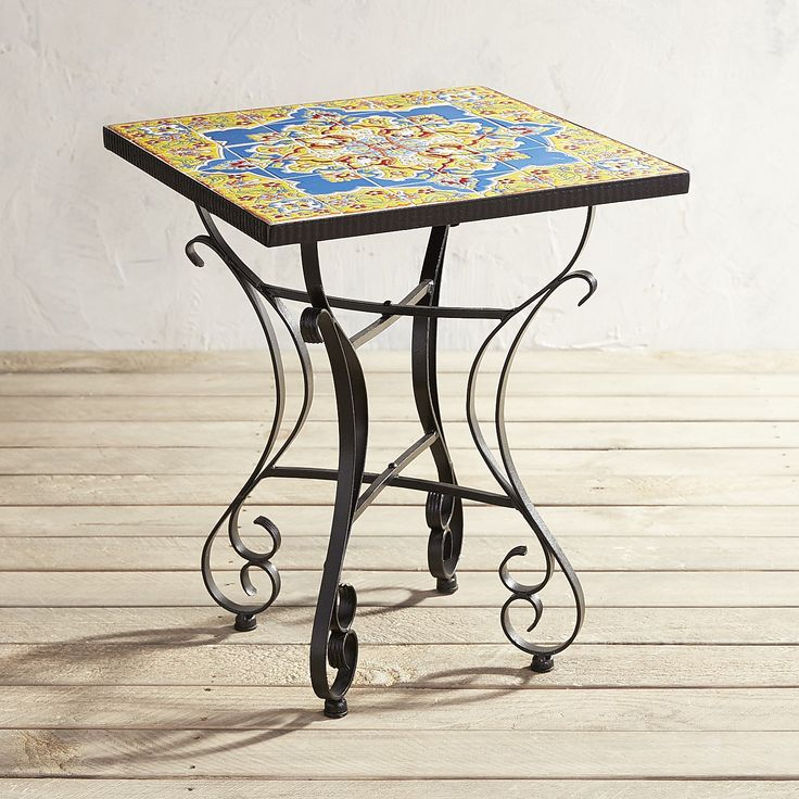 Florence Mosaic Accent Table