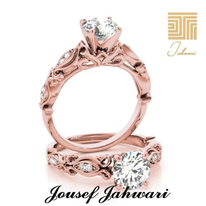 مهما كثرت صيحات خواتم الزفاف يبقى لل خاتم المصنوع من ال الماس بصمته الخاصة والتي تعز ز من جمال إطلالة العروس كما سيبقى لديها Engagement Rings Jewelry Rings