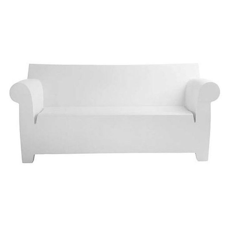 Tufted Sofa Kartell Bubble Club Collection Sofa