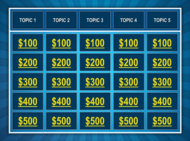 56 best Teaching Resources and Ideas images on Pinterest - blank jeopardy template