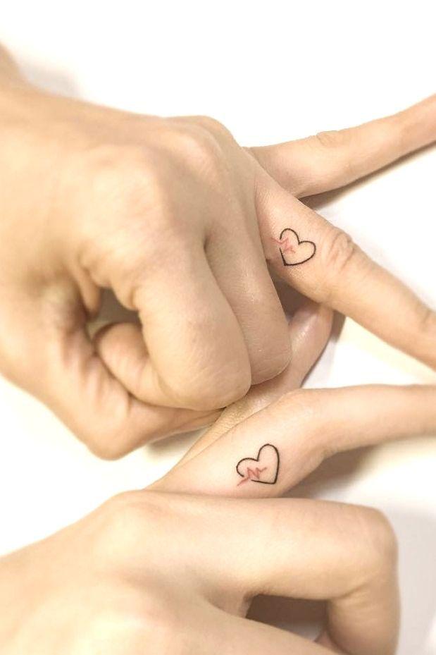 Coupletattoo Fingertattoo Couple Coupletattoo Finger