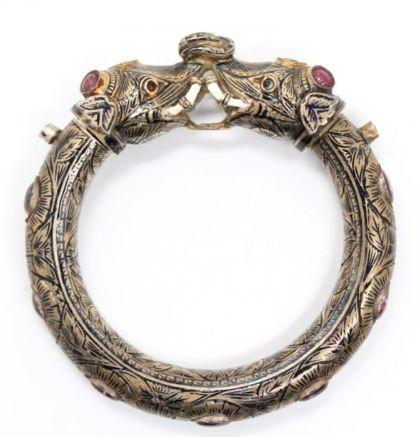 Mughal elephant bracelet