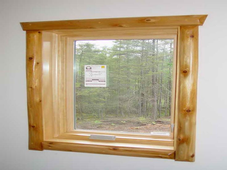 Small Rustic Window Trim Home Trim Ideas Rustic Window
