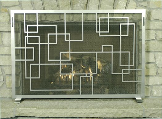 Small Geometric Freestanding screen - 17 Best Images About Fireplace Screens On Pinterest Pewter, Wood