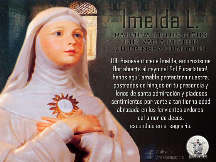 Esta niña angelical nació en la ciudad de Bolonia en 1322. Era hija de los Condes de Lambertini, ilustres en nobleza y en virtud. La condesa, desconsolada porque no tenía hijos, había rogado fervorosamente para que le fuese concedida una hijita, y, según se dice, obtuvo tal merced del Cielo por medio del Santísimo Rosario, del cual era devotísima.