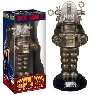 LOST IN SPACE FORBIDDEN PLANET ROBBY THE ROBOT BOBBLE HEAD Wacky