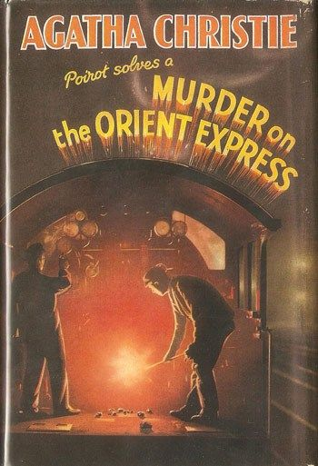 """Murder on the Orient Express"" by Agatha Christie  