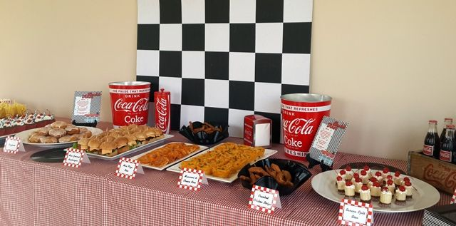 American Themed Party Food