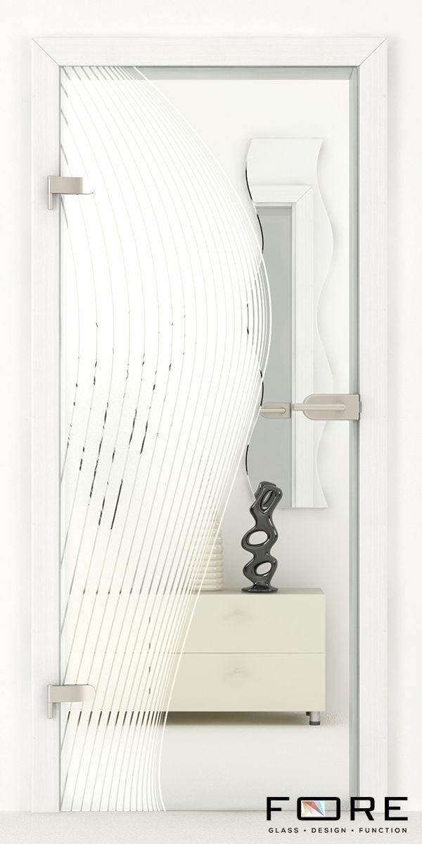 Drzwi szklane Line 01, glass doors, www.fore-glass.com, #drzwi #drzwiszklane #drzwiwewnetrzne #szklane #glassdoor #glassdoors #interiordoor #glass #fore #foreglass #wnetrza #architektura