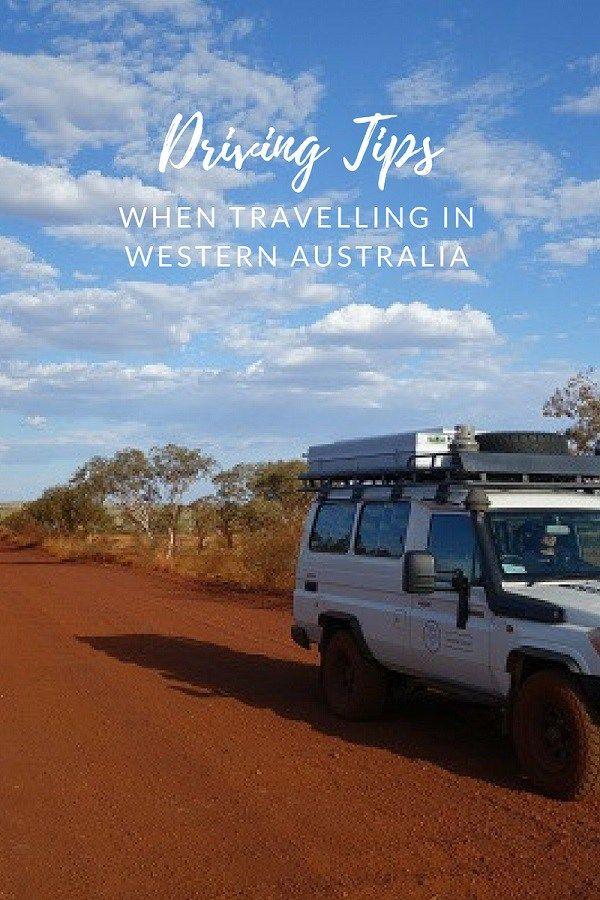 Driving tips when travelling in Western Australia #westernaustralia