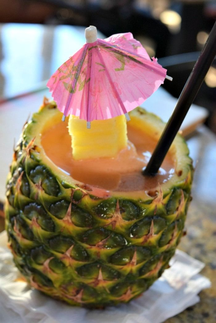 The Ultimate Pineapple Cocktail #summerbeachbash #sp