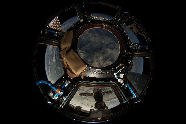 Comme à travers lœil dun poisson une visite en ultra haute définition de la Station Spatiale internationale (Vidéo)